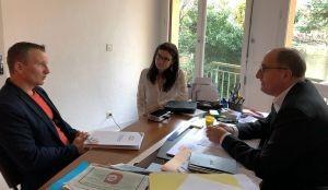 Rapport Lecocq l'AISMT 04 dialogue avec les élus locaux et l'Union des entreprises
